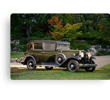 1931 Nash 887 Touring Sedan Canvas Print