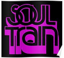 SOUL TRAIN (PURPLE) Poster
