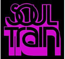 SOUL TRAIN (PURPLE) Photographic Print