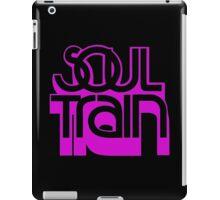 SOUL TRAIN (PURPLE) iPad Case/Skin