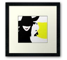 Wicked - Elphaba and Glinda Framed Print
