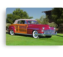 1946 Chrysler Town and Country Convertible Canvas Print