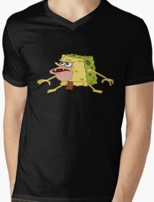 spongebob Mens V-Neck T-Shirt