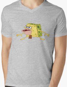 spongebob Mens V-Neck T-Shirt