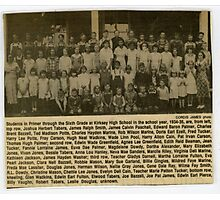 1934-35 Kirksey School, Calloway County, Kentucky Photographic Print