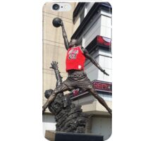 Michael Jordan Statue iPhone Case/Skin