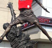 Michael Jordan Statue Sticker
