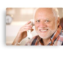 Harold calling your B Canvas Print