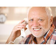 Harold calling your B Photographic Print