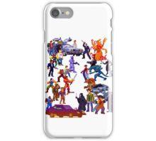 Badass 80's  Battle iPhone Case/Skin
