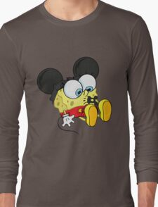 spongebob mickey Long Sleeve T-Shirt