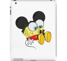 spongebob mickey iPad Case/Skin