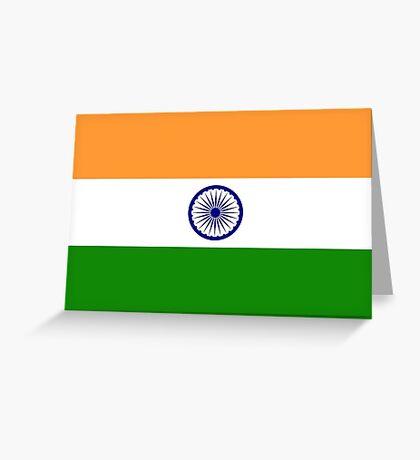 India Flag Greeting Card
