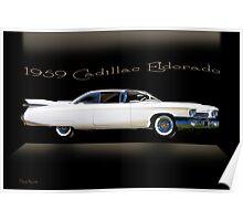 1959 Cadillac Custom Eldorado Poster
