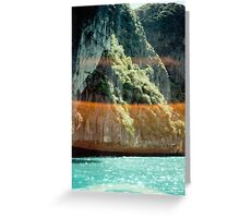 lens flare thailand Greeting Card