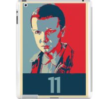 Stranger Things Eleven Poster iPad Case/Skin