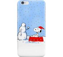 snoopy ice iPhone Case/Skin