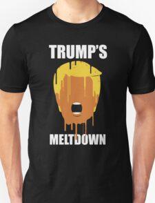 Donald Trump's Meltdown Unisex T-Shirt