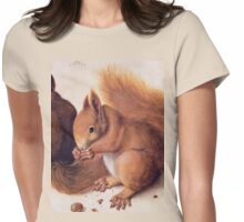 Red Squirrels by Albrecht Durer Womens Fitted T-Shirt