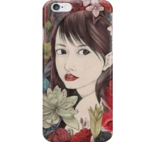 Muse in Nature 01 iPhone Case/Skin