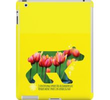 Berlin Bear - Tulips iPad Case/Skin