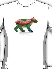 Berlin Bear - Tulips T-Shirt