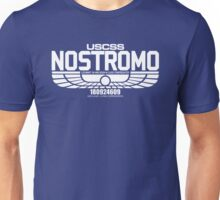 NOSTROMO ALIEN MOVIE STARSHIP (WHITE) Unisex T-Shirt