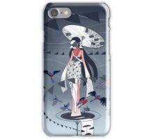 Kimono Birds iPhone Case/Skin