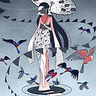 Kimono Birds by kookylane