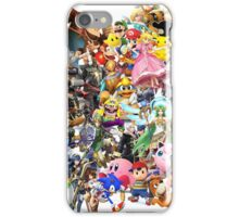 Super Smash Bros characters iPhone Case/Skin
