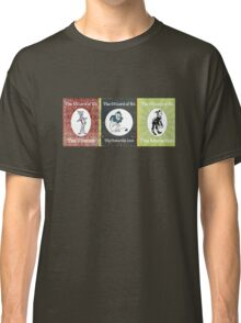 Wizard of Oz Tinman Cowardly Lion Scarecrow Classic T-Shirt