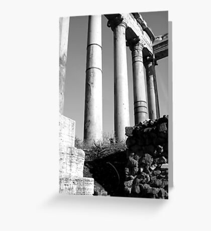 doric variations Greeting Card