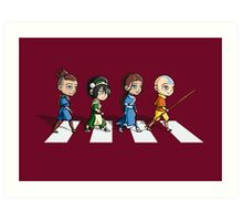 Avatar Road Art Print