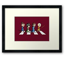 Avatar Road Framed Print