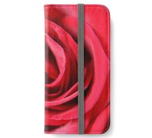 Red Velvet Rose iPhone Wallet/Case/Skin