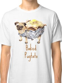 Baked Pugtato  Classic T-Shirt