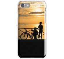Sunset Cyclist iPhone Case/Skin