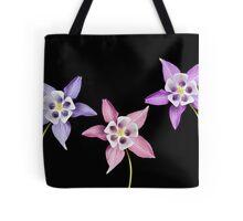 Aquilegia Flower Tote Bag