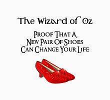 Wizard of Oz New Pair of Shoes Womens Fitted T-Shirt