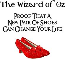 Wizard of Oz New Pair of Shoes by CafePretzel