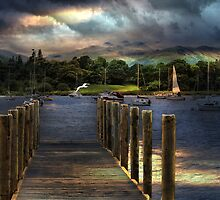 Sunrise at Windermere by Irene  Burdell