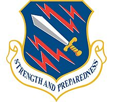 21st Space Wing, USAF, Crest Photographic Print