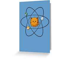Catom Greeting Card