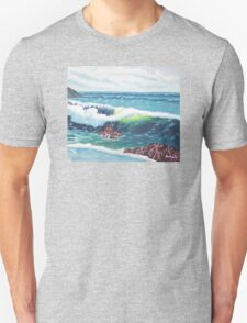 Oregon Seascape 84 oil painting  Unisex T-Shirt