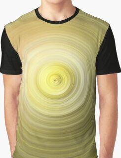 Gold Swirl Graphic T-Shirt