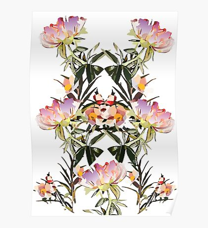 Fashion Flowers Poster