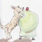 Westie Sketch CCF by Edward Fielding