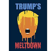 Inside Donald Trump's Meltdown Photographic Print