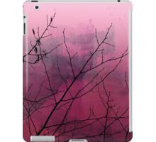 Plum Watercolor & Black Branches iPad Case/Skin