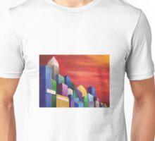Bright multicolored city  Unisex T-Shirt